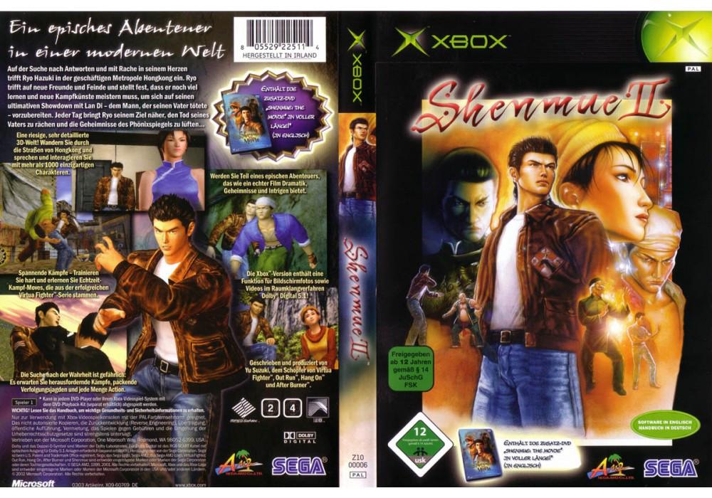 Игра для игровой консоли Xbox 360E, Shenmue 2