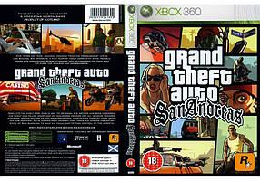 Игра для игровой консоли Xbox 360E, Grand Theft Auto: San Andreas (русская версия)