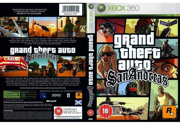 Игра для игровой консоли Xbox 360E, Grand Theft Auto: San Andreas (русская версия), фото 2