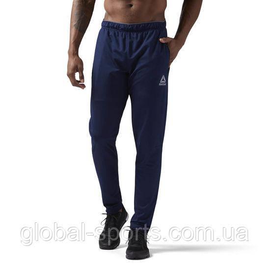 Мужские спортивные штаны Reebok Workout Ready Stacked Logo(Артикул:CW5030)