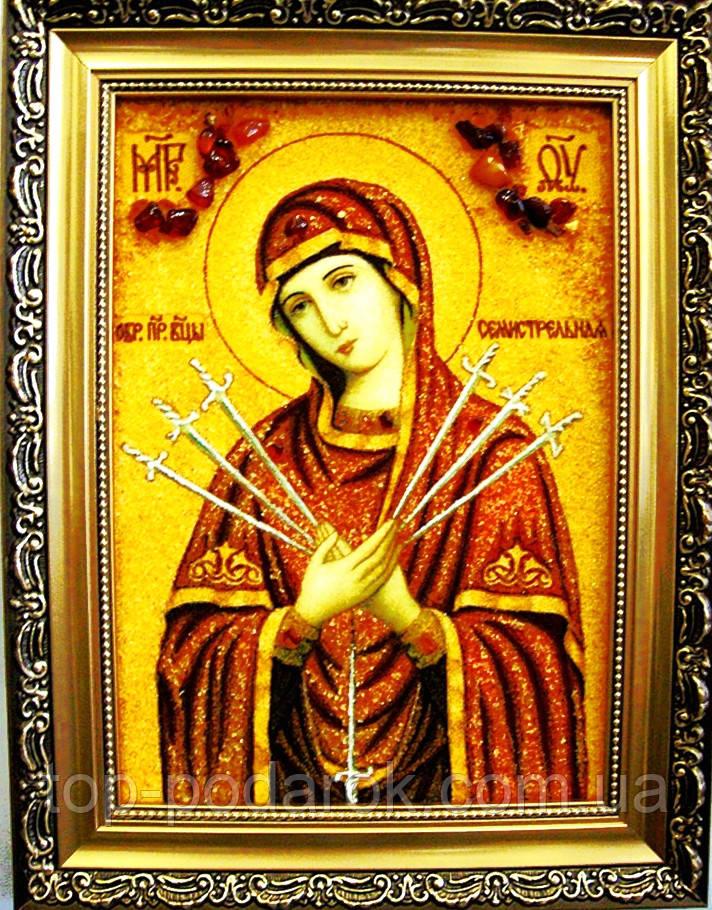 Семистрельная і-65 Ікона Божої Матері