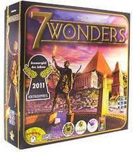 7 Wonders (7 чудес) настольная игра на украинском языке