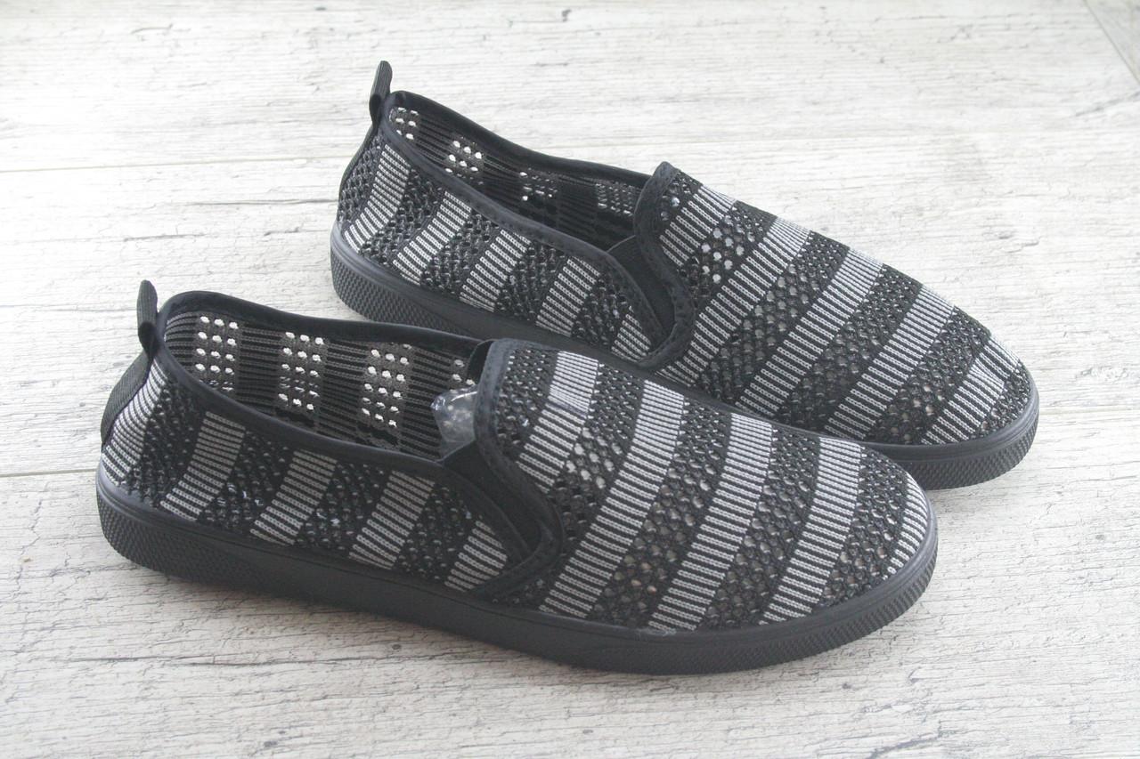 Мокасины, слипоны, кроссовки мужские сетка Moli, обувь летняя, спортивная, повседневная
