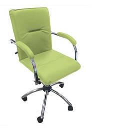 Кресло офисное Samba GTP Soft механизм Tilt крестовина CHR10 экокожа ЕV-12 (Новый Стиль ТМ)