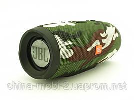 JBL Charge3 E3 20W копия, Bluetooth колонка с FM MP3, камуфляжная, фото 3