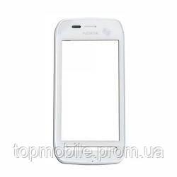 Сенсор Nokia 603, белый (тачскрин, стекло)