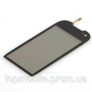 Сенсор Nokia 701, черный (тачскрин, стекло)