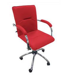 Кресло офисное Samba GTP Soft механизм Tilt крестовина CHR10 экокожа Есо-90 (Новый Стиль ТМ)