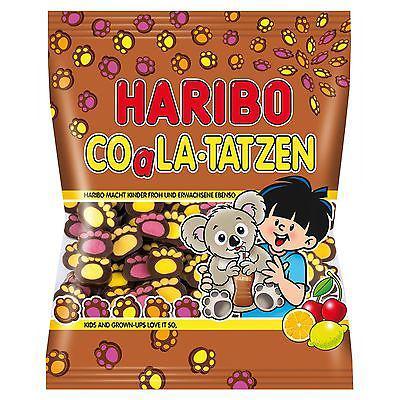 Жевательные конфеты Haribo Coala-Tatzen 175г