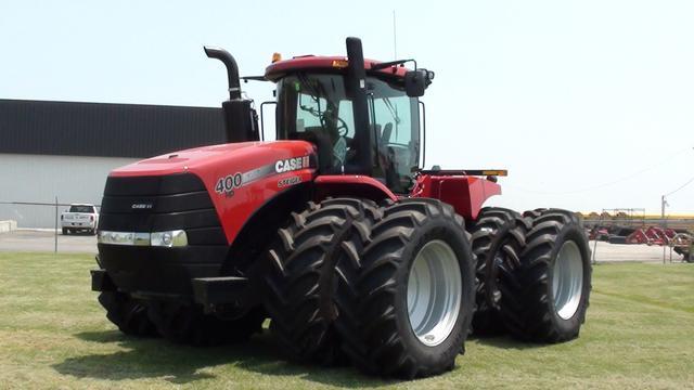 Фото сельскохозяйственного трактора Case из Европы