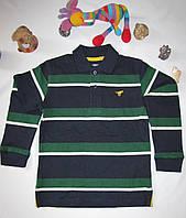 Футболка с длинными рукавами Wrangler jeans оригинал рост 110 см зеленая+темно синяя 07027, фото 1