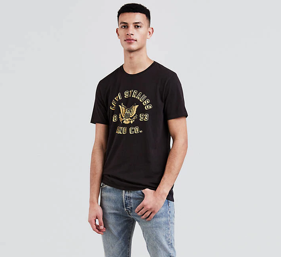 Мужская футболка Levis® Graphic Tee - Icon Eagle Dark Phantom