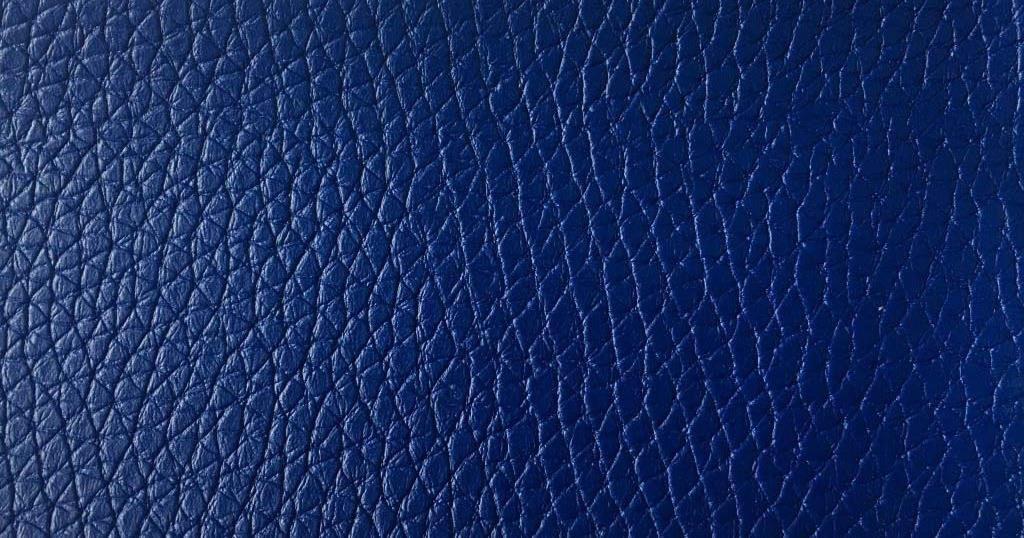 Дермантин синий крупный