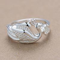 Женское кольцо Жар-птица р 18