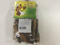 Пенис сушеный бычий резанный 12,5 см 500 гр лакомство для собак Штерн