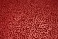 Дерматин красный крупный