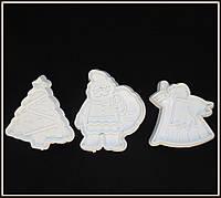 Плунжер Ангел, Елка, Дед Мороз 3 шт , фото 1
