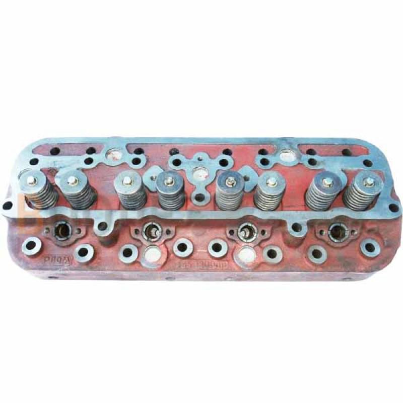 Головка блока цилиндров ГБЦ ЮМЗ с клапанами Д65-1003012 СБ