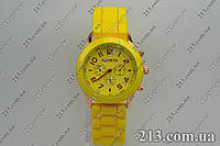 Женские часы Geneva Женева кварц желтые