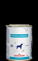 Royal Canin HYPOALLERGENIC CANINE Cans0,4кг диета для собак при пищевой аллергии или непереносимости