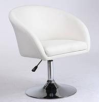 Кресло Мурат НЬЮ, мягкое, кожзам, цвет белый