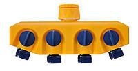 Розподілювач пластиковий з 4 виходами, Verano (72-136)