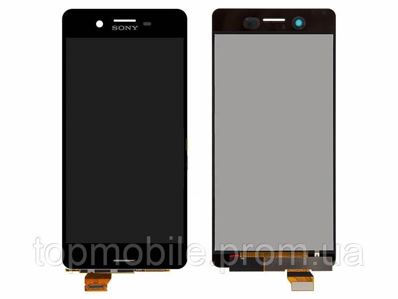 Модуль Sony F5121 Xperia X/F5122/F8131/F8132  серый, Graphite Black, оригинал (Китай) (стекло, экран, дисплей)
