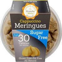 Меренги Krunchy Melts со вкусом капучино 30 ккал