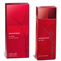 Парфюмированная вода женская Armand Basi In Red  EDP