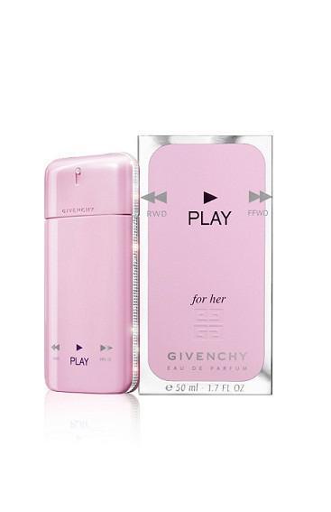 Парфюмированная вода GVNCHY Play for Her  75 мл