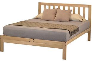"""Кровать двуспальная """"Твен"""" из массива"""