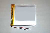 Универсальный аккумулятор (АКБ, батарея) 3.7V 3000mAh (2.8*77*85mm), фото 1