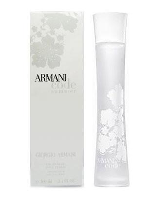 Парфюмированная вода женская GIORGIO ARMANI Armani Code Summer  100 мл