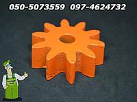 Запчасти к китайской бетономешалке - шестерня на 10 зубов