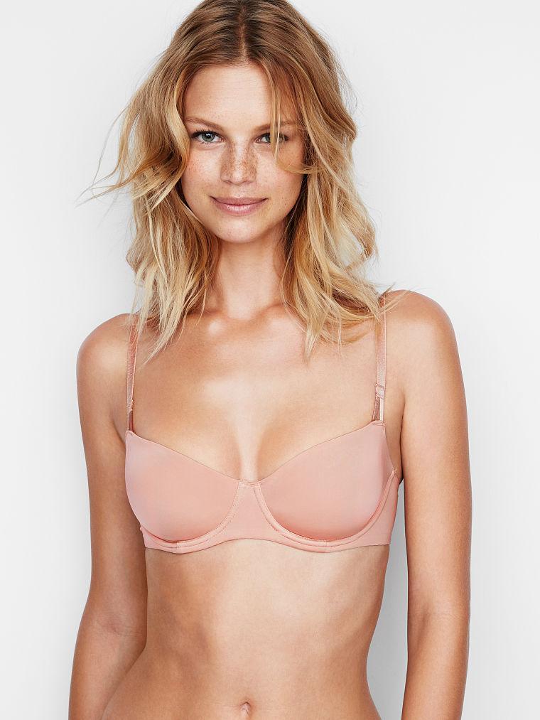 Victoria's Secret бюст оригинал Unlined Uplift Bra размер 32B цвет бежевый