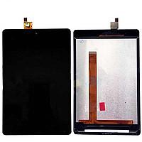 Модуль Xiaomi MiPad 2  черный (стекло, экран, дисплей)