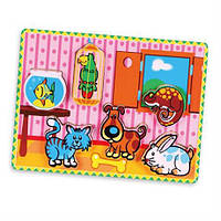 "Пазл Viga Toys ""Домашние животные"" (56440)"