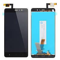 Модуль Xiaomi Redmi Note 3 /Redmi Note 3 Pro  черный, 147x73 mm (стекло, экран, дисплей)