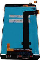 Модуль Xiaomi Redmi Note 2  черный (стекло, экран, дисплей)