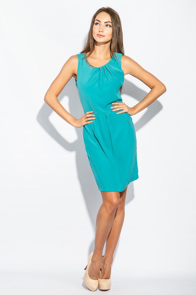 Платье женское приталенный крой 964K002 (Петроль)