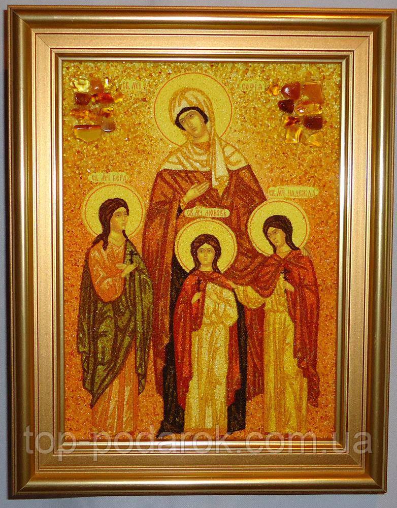 Икона из янтаря именная София іі-125