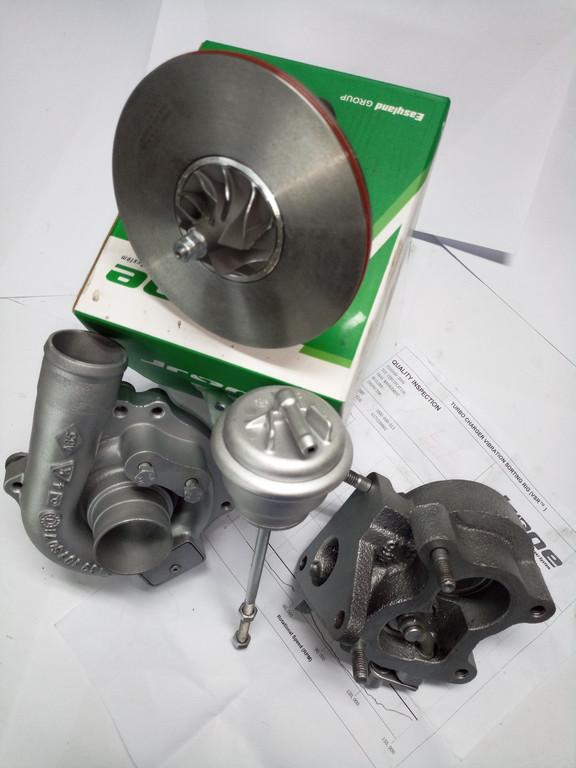Замена картриджа турбины 54359700002 RENAULT KANGOO, K9K 1.5 DCI