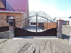 Ворота ковані  Володимирець, фото 2