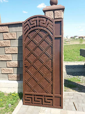 Ворота  ковані Янки, фото 2