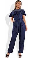 Модный женский комбинезон на лето размеры от XL 4243
