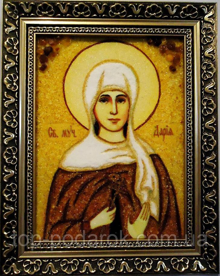 Ікона з янтаря іменна Дарія іі-39