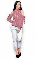 Жіноча стильна блузка Elli