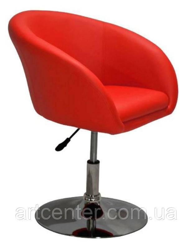 Кресло для парикмахера (МУРАТ НЬЮ красный)