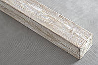 Балка декоративная полиуретановая Decostar, модерн, патина бежевая, сечение 12х12см, длина 2м; 3м; 4м, фото 1