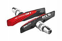 """Колодки тормозные велосипедные Kellys """"Dualstop V-02 для V-Brake"""""""